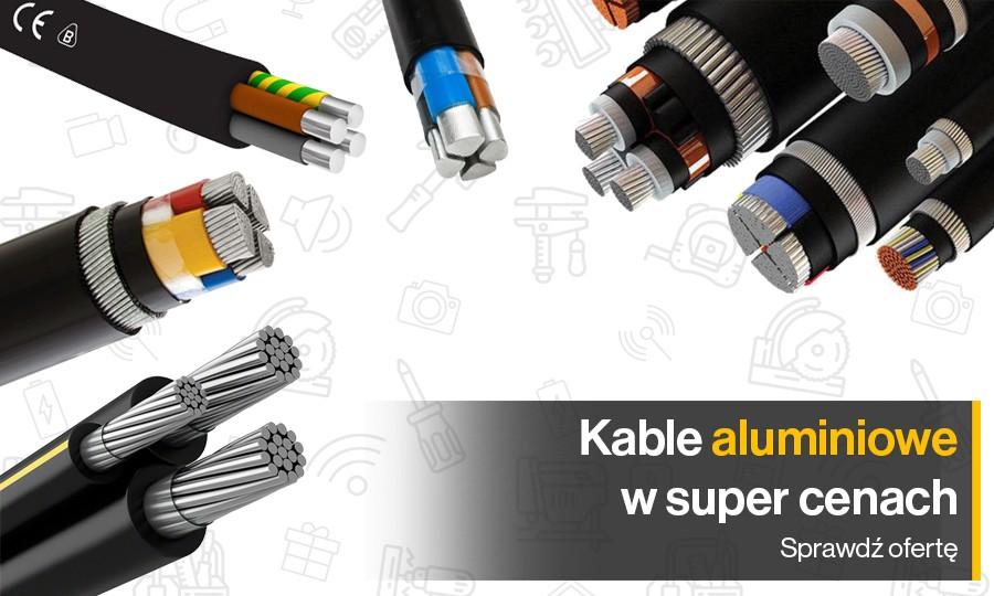 Bogaty asortyment kabli aluminiowych różnego rodzaju