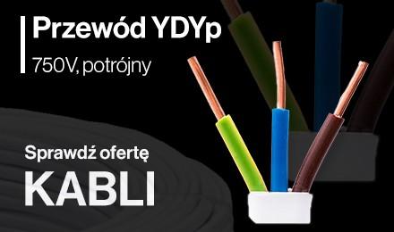 Przewody YDYp 750V
